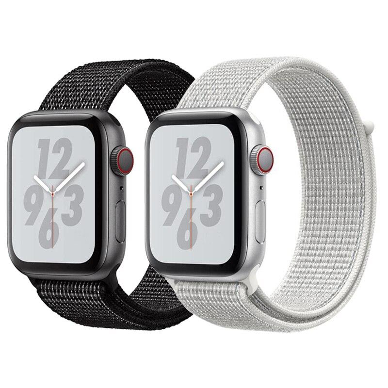 Uhrenbänder Uhren Geschickt Licht Reflektierende Armband Sport Schleife Band Für Apple Uhr 44mm 42mm 40mm 38mm Woven Nylon Uhr Strap Für Iwatch Serie 4/3/2/1