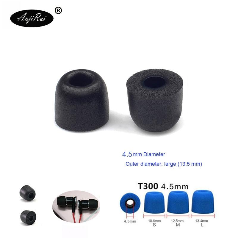 Portable Audio & Video 2 Pcs Anjirui T200 4.5mm Caliber Ear Pads Memory Foam Eartips T200 Tips Ear Pads For In-ear Earphone Tips Sponge Ear Cotton Consumer Electronics
