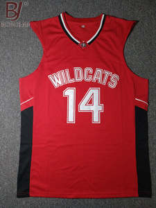 449c20ab3 BONJEAN Throwback Basketball Jerseys East High School Wildcats Stitched  Retro Mens