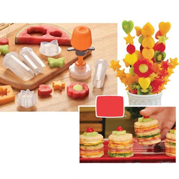 Accesorios de cocina creativa herramientas de cocina de plástico forma de la fru