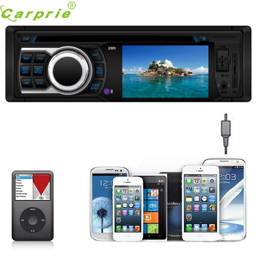 DependableIn Car Radio Player Car Stereo In-Dash MP3 Player USB SD AUX input FM Receiver Ma28 dropshipping car usb sd aux adapter digital music changer mp3 converter for skoda octavia 2007 2011 fits select oem radios