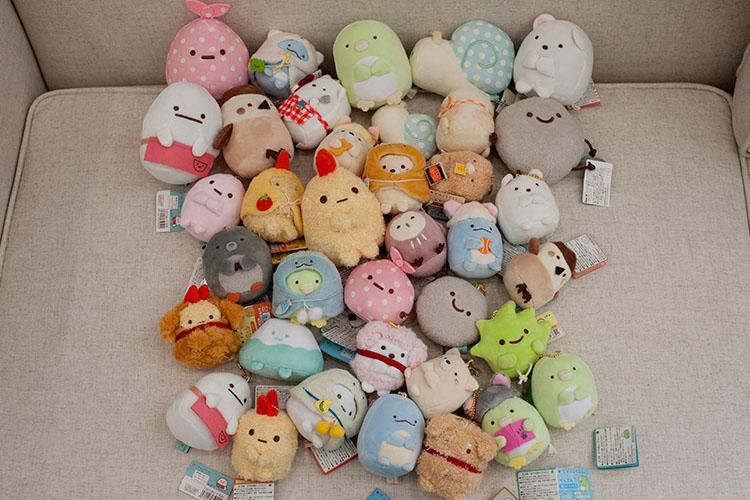 Hot Sale 27 Styles Sumikko Cartoon Sumikko Gurashi Toys Animal Stuffed Plush Toys Girls Gifts Bags Pendant Keychain Decoration