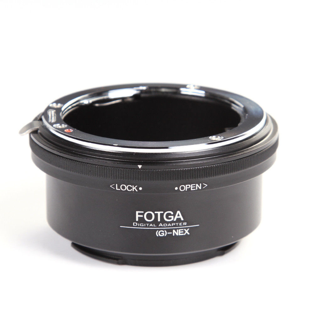 FOTGA Adapter Ring for Nikon AI AF-S G Lens to Sony E-Mount NEX3 NEX-5 5N 5R C3 NEX6 NEX7
