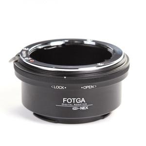 Image 1 - FOTGA Adapter Ring voor Nikon AI AF S G Lens Sony E Mount NEX3 NEX 5 5N 5R C3 NEX6 NEX7