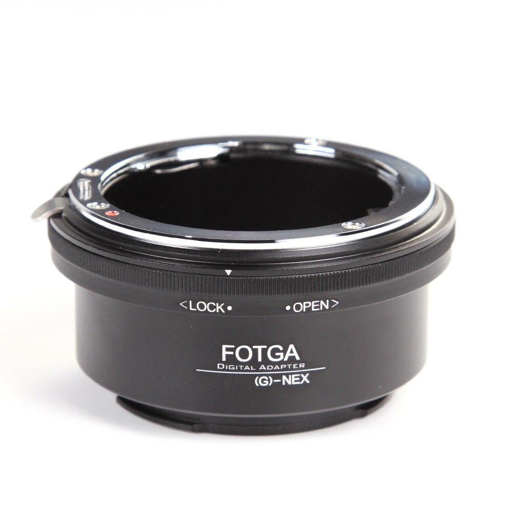 Fotga anillo adaptador para Nikon AI AF-S G lente a Sony e-mount NEX3 NEX-5 5N 5R C3 NEX6 NEX7