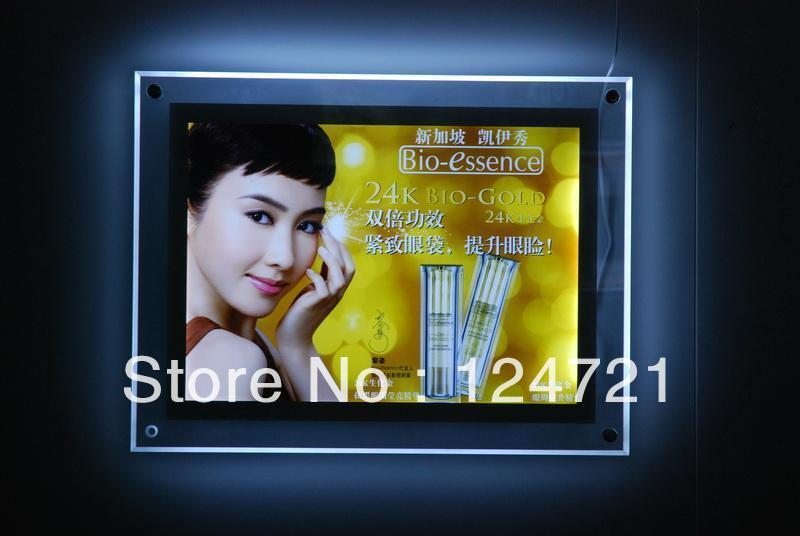 цена Single side Ultra-thin acrylic led Light Box Display