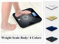 Wysoka Precyzja! cyfrowego domu zdrowia skali wagi szkło hartowane electronic waga ciała pomiaru piętro bilans wagi 4 kolor