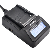 DuraPro NP-F570 NP-F550 NP-F530 LCD Tremendous Fast Charger for Sony CCD-SC55 CCD-TRV81 DCR-TRV210 MVC-FD81