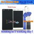Alta Qualidade da Tela de Toque de Vidro E LCD conjunto do Visor Digitalizador para xiaomi 4i mi4i m4i smart phone com quadro livre grátis