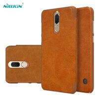 For Huawei Nova 2i Phone Case Original NILLKIN Qin Vintage PU Leather Flip Case For Huawei