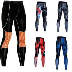 Cool Anime 3D Print Men Pants Fashion Joggers Men Bodybuilding Fitness Trousers Soft Leggings MMA Men Compression Pants