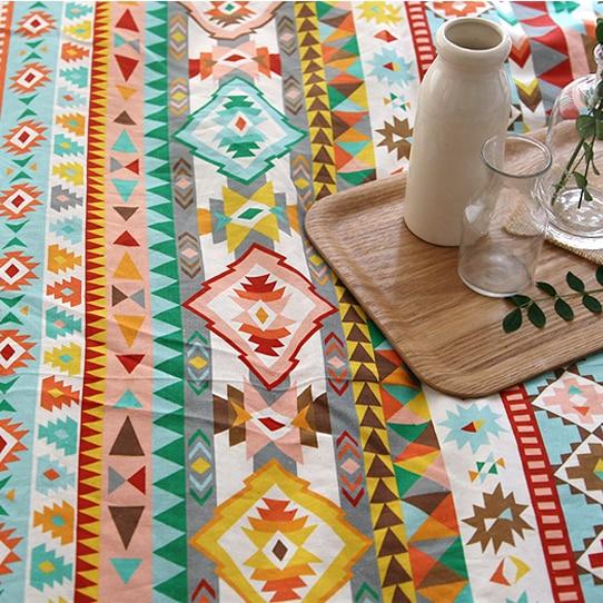 140cm*50cm Handmade diy sewing linen tablecloths curtain ...