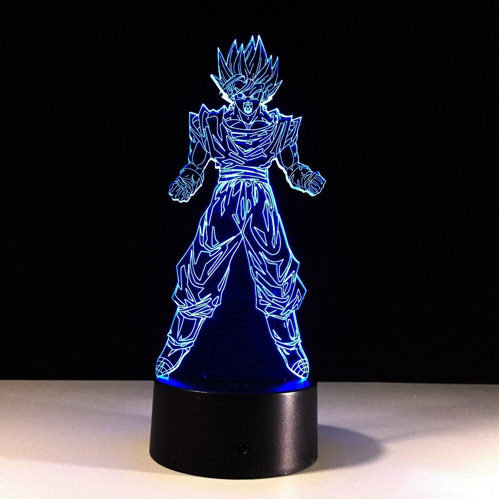 Dragon Ball Son Goku Forza bombe 3D Lampada di Notte Luminaria LED Luci notturne camera Illuminazione decorativa Regalo Di festaDragon Ball Son Goku Forza bombe 3D Lampada di Notte Luminaria LED Luci notturne camera Illuminazione decorativa Regalo Di festa