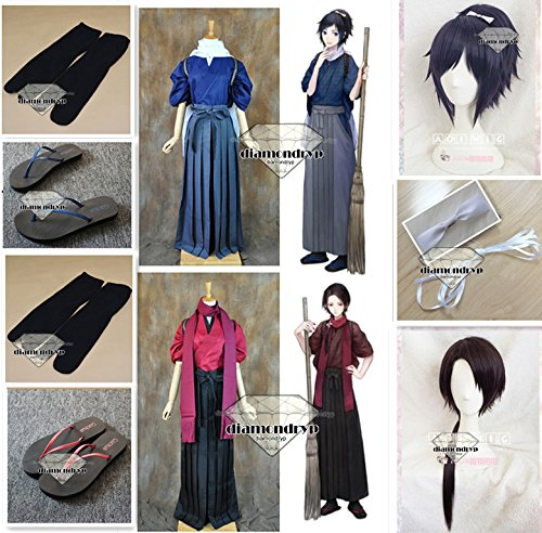 Hot Anime Touken Ranbu Online Cosplay Costume Yamatonokami Yasusada Costume Adult Women Halloween Carnival Costume