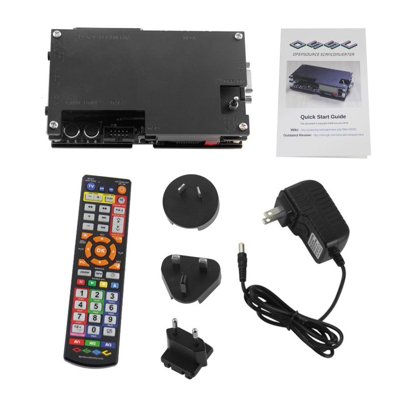 Console de jeu rétro Kit convertisseur Hdmi pour Ossc 2 Ps2 Atari Dreamcast Sega Saturn