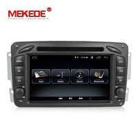 Fit for Mercedes/Benz Clk W209/W203/W168/M/ML/W163/Viano/W639 Android 8.0 car dvd radio player support gps navigation