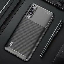 For Xiaomi Mi A3 A 3 Case Luxury Carbon fiber Cover Shockproof Phone Case For Mi 9 Lite CC 9 CC 9e Cover Ultra Fit Bumper Shell