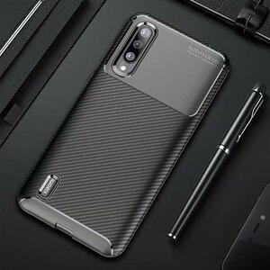 Image 1 - Xiao mi mi A3 bir 3 kılıf lüks karbon fiber kapak darbeye dayanıklı telefon kılıfı için mi 9 Lite CC 9 CC 9e kapak Ultra Fit tampon kabuk