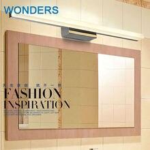 Современная Личность акрил led зеркало лампы 85-265 В 7 Вт спальня настенный светильник ванная комната освещения завод продает