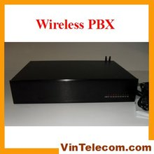 China PBX factory-VinTelecom GSM Wireless Phone PBX System TP432-with PC billing software 2 SIMs-4lines x 32 exts output(China (Mainland))