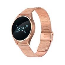 Smartch M7 круглый Bluetooth Smart Часы жизни Водонепроницаемый крови Давление/монитор сердечного ритма sport умный Браслет для iOS и Android