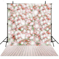 Kids Photography Backdrops Flowers Vinyl Backdrop For Photography Bokeh Background For Photo Studio Wood Foto Achtergrond