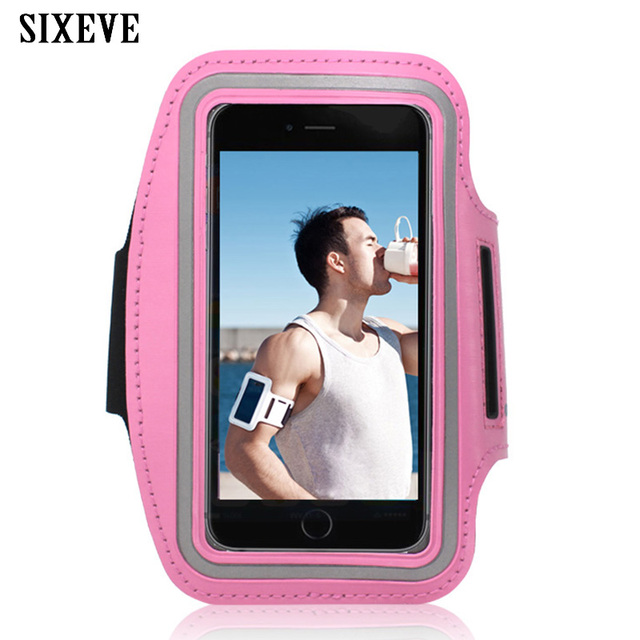 low priced 1279b eae91 US $1.99 30% OFF|SIXEVE Gym Running Arm Soft Phone Case For Samsung Galaxy  S3 S4 S5 Neo S6 S7 Edge S8 S9 Note 3 4 5 Sports Waterproof Pouch Cover-in  ...