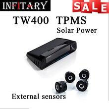 TW400 мониторинга Беспроводной давления в шинах tpms системы мониторинга 4 внешних датчиков Для renault peugeot toyota и все машины свободный корабль
