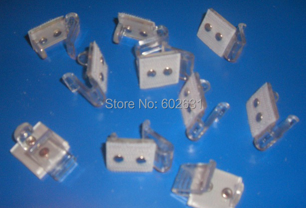 quality table skirting plastic clips for home hotel restaurant in Table Skirts from Home Garden