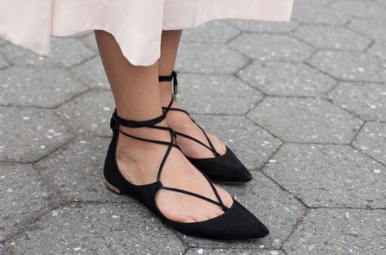 Concise Femmes Cheville Style Femelle Appartements As Élégante Toe Sexy Point Chaussures Lacent 2018 Dames Robe Printemps Bandage Picture Mode as Picture FxOpEWWqwZ