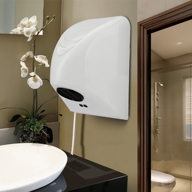 Mini Automatic Hand Dryer Wall Mounted Electric Induction Commercial