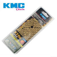 KMC X11EL X11 Bicycle Chain 116L 11 Speed Bicycle Chain with Magic Button for Mountain/Rod Bike Bicycle Parts With Original box