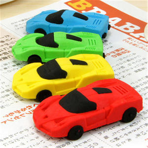 DL Korean creative stationery detachable mini car molding rubber product eraser