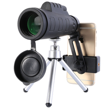 Portable Monocular 50x60 Dual Focus Spotting Telescope Zoom Optic Lens Binoculars Coating Lenses Hunting Scope