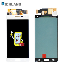 100% Tested A5 A500 LCD Panel For Samsung A5 2015 A500 A500F LCD Touch Screen Assembly For A5 2015 A500 SM-A500F LCD Display все цены