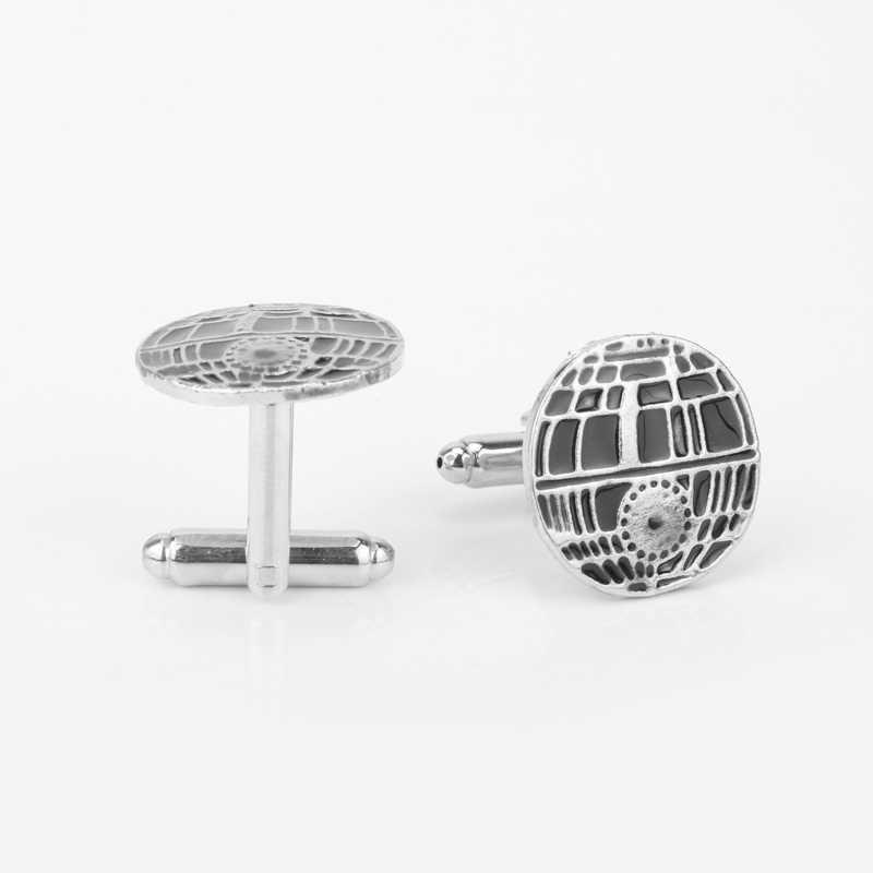 Dongsheng Star War Manchetknopen Legering Dome 3D Cubelinks Manchet Knop mannen Shirt Manchet Pins Manchetknopen Accessoires voor Mannen Women-40