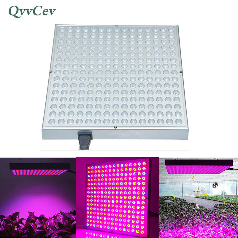 45W 225leds LED Grow Light Plant Growing Lamps 85-265V Super Bright Lighting Lamp For Greenhouse Hydroponics Flower Vegetable 90w ufo led grow light 90 pcs leds for hydroponics lighting dropshipping 90w led grow light 90w plants lamp free shipping
