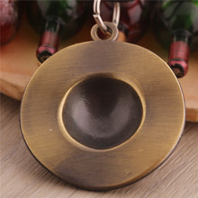 Anime One piece luffy Hat Metal Leather Necklace