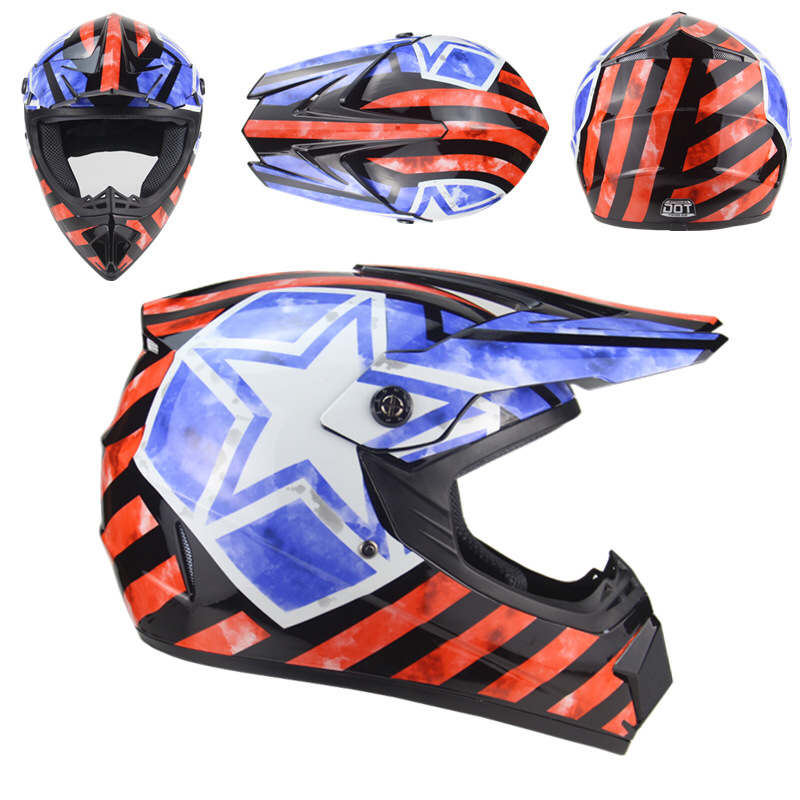 Free Shipment 3 free gift motorcycle helmet atv off road capacete motocross ABS material