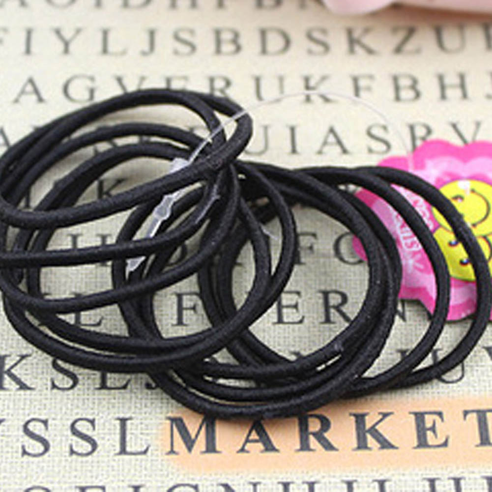 Cute Kids Girl Elastic Hair Bands Ponytail Holder Head Rope Ties 2017 100pcs lot cute candy fluorescence kids girl elastic hair bands ponytail holder hair rubber band rope ties gum scrunchies