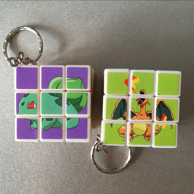 Pokemon Cube Keychain