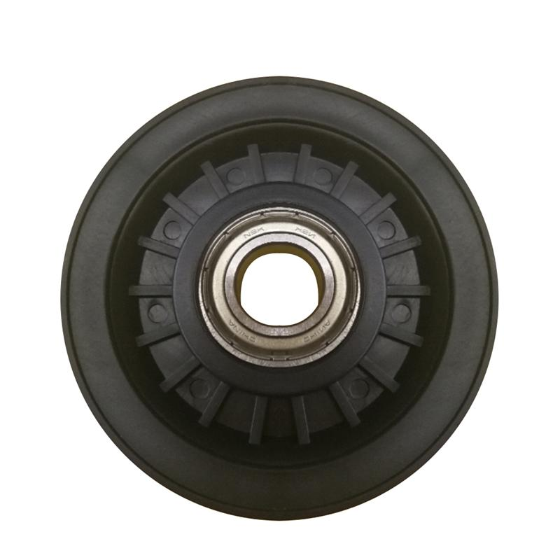 90mm black bearing pulley wheel cable gym equipment part wearproof XS