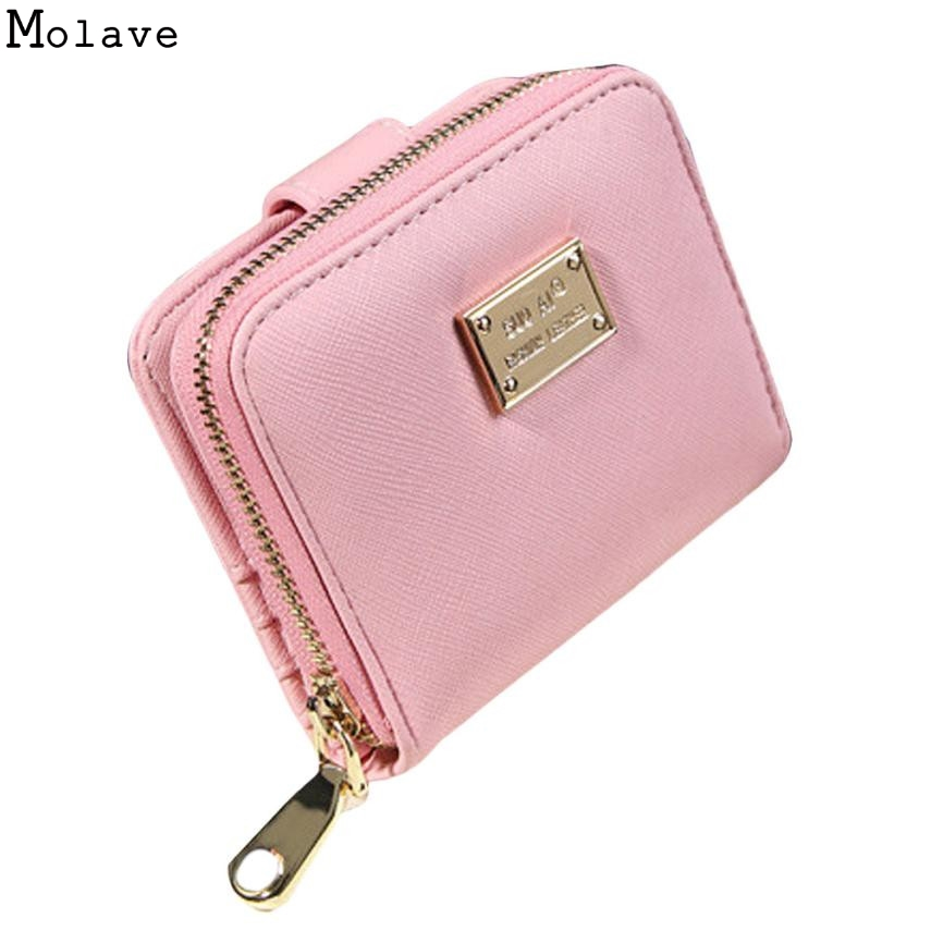 Fashion PU Leather Women Wallets Brand Design High Quality 2017 Card Holder Lady Wallet Purse Clutch Zipper Womens Wallet D45Ma6 nawo real genuine leather women wallets brand designer high quality 2017 coin card holder zipper long lady wallet purse clutch