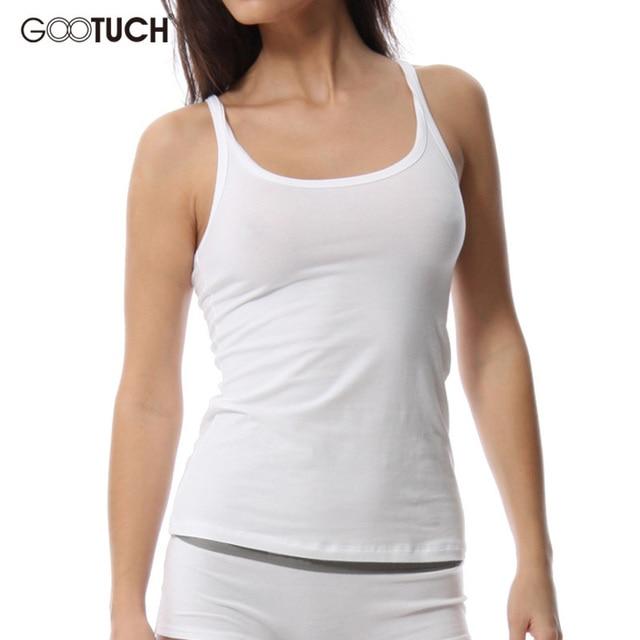 Aliexpress.com : Buy Summer Women Undershirt Cotton ...