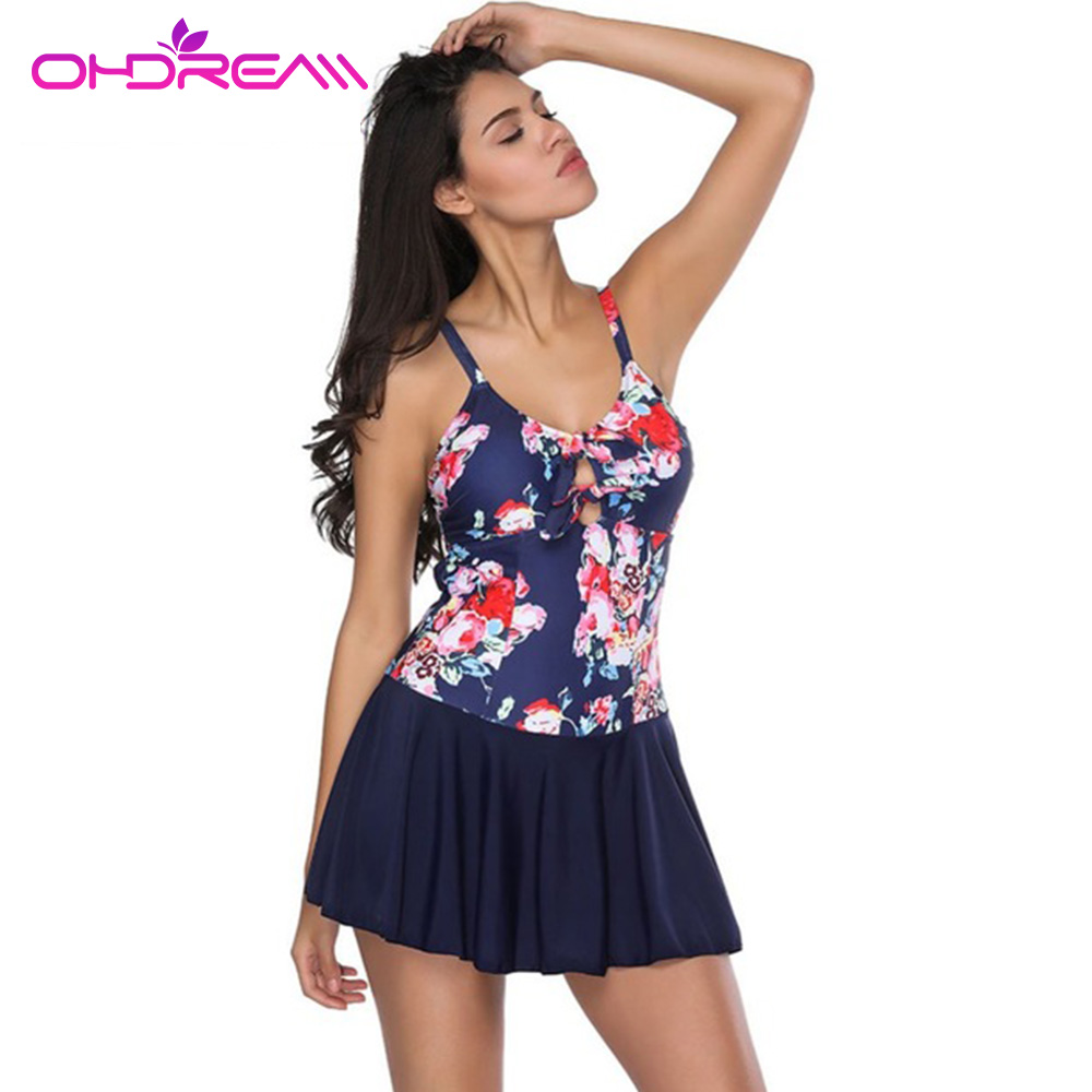 ohdream sxey swimming skirt girls plus size one piece. Black Bedroom Furniture Sets. Home Design Ideas