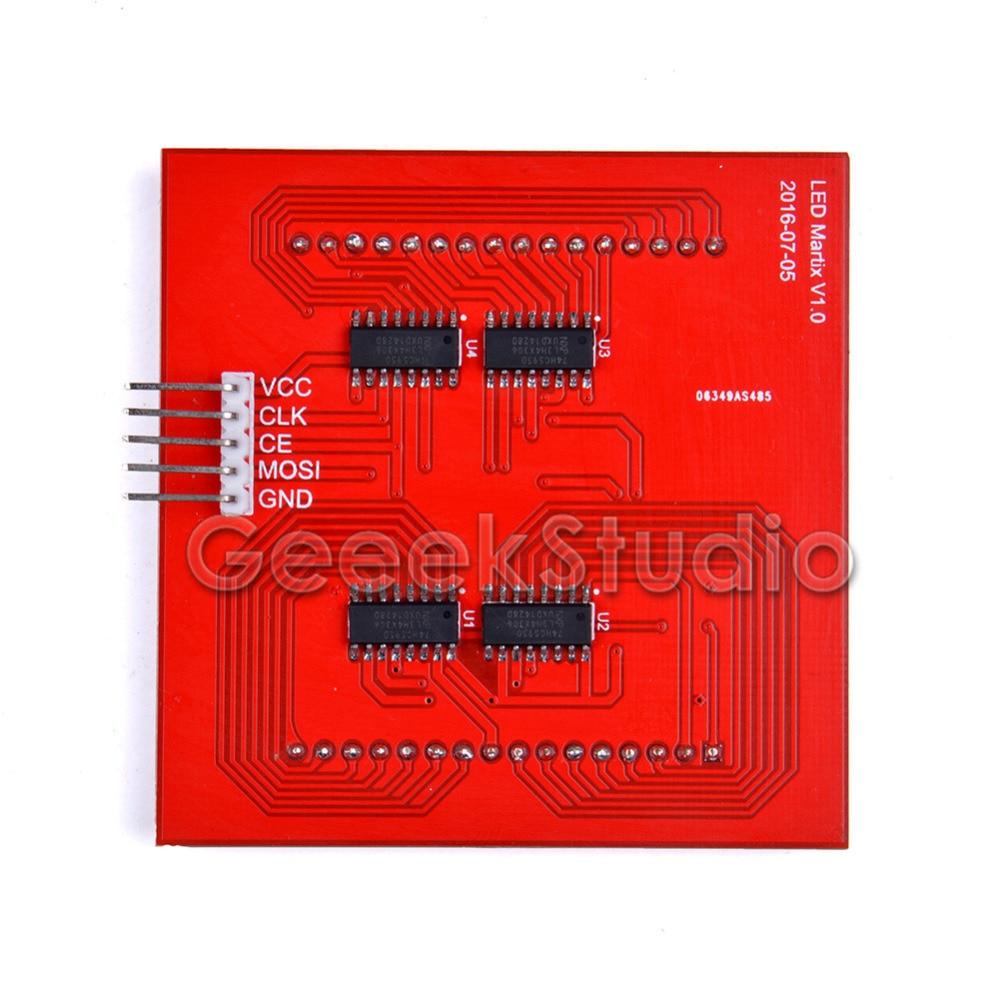 Raspberry Pi Rgb Led Matrix Modul Mit 74hc595 Chip Untersttzung Spi Wiringpi Protokoll Display Expansion Board Fr Arduino Stm32 In