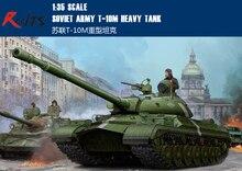 RealTS Trumpeter model 05546 1 35 Soviet T 10M Heavy Tank