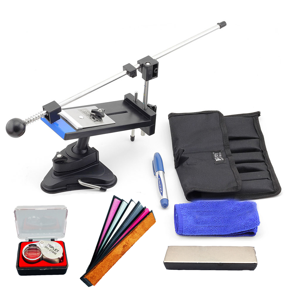 Pencil sharpener for knife Edge Pro Apex sharpener more stones Apex pro 2 generation Ruixin sharpening system Knife whetstone