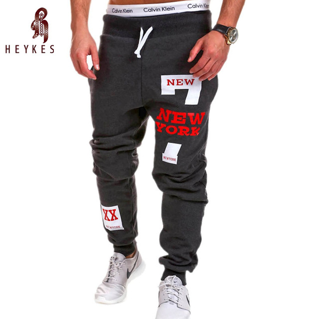 Brand Male Tracksuit Trousers Men Pants