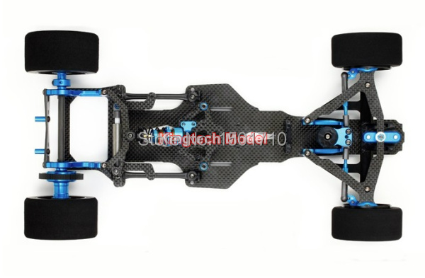 TAMIYA TRF101 1/10 F1 frame rc chassis 4WD Drift Racing Car Frame ...